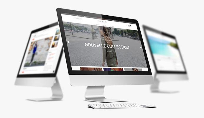 mockup web ecommerce